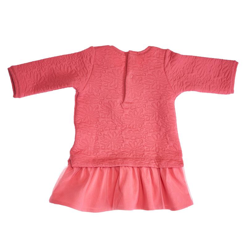 Рокля за бебе за момиче розова  113641