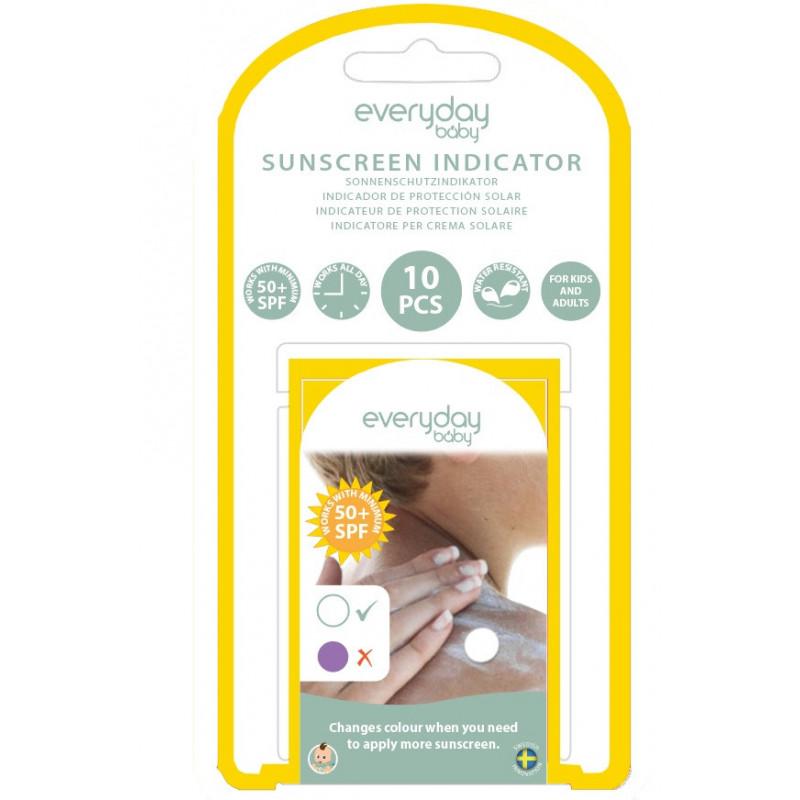 Слънцезащитен индикатор, 10 бр.  115015
