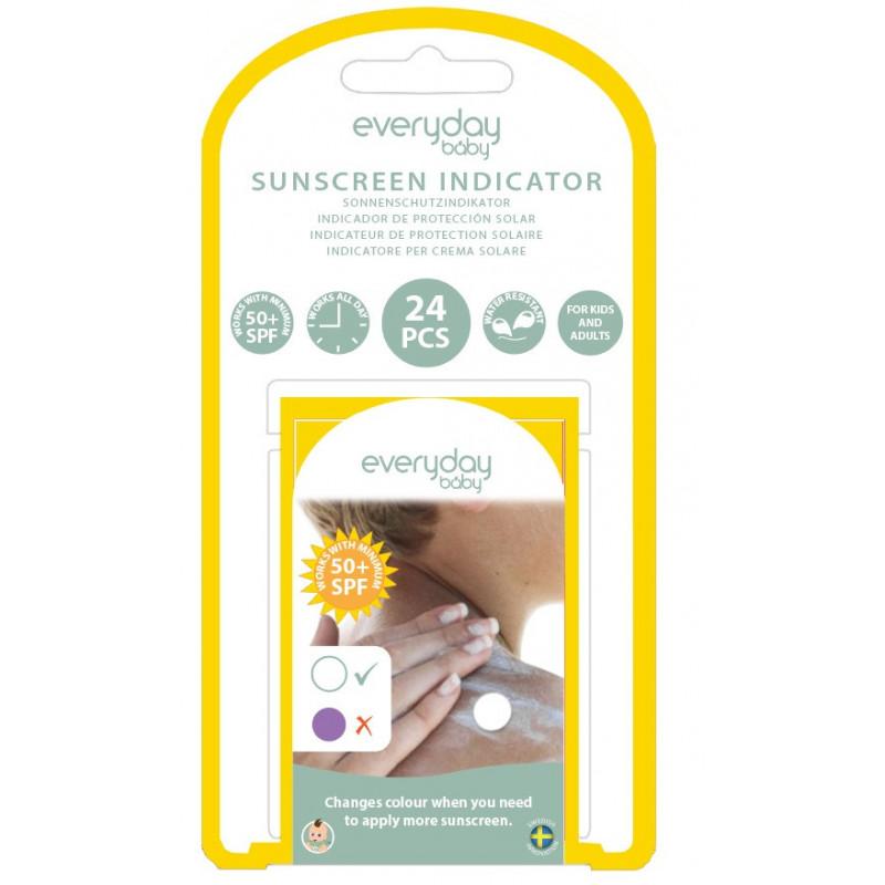 Слънцезащитен индикатор, 24 бр.  115016