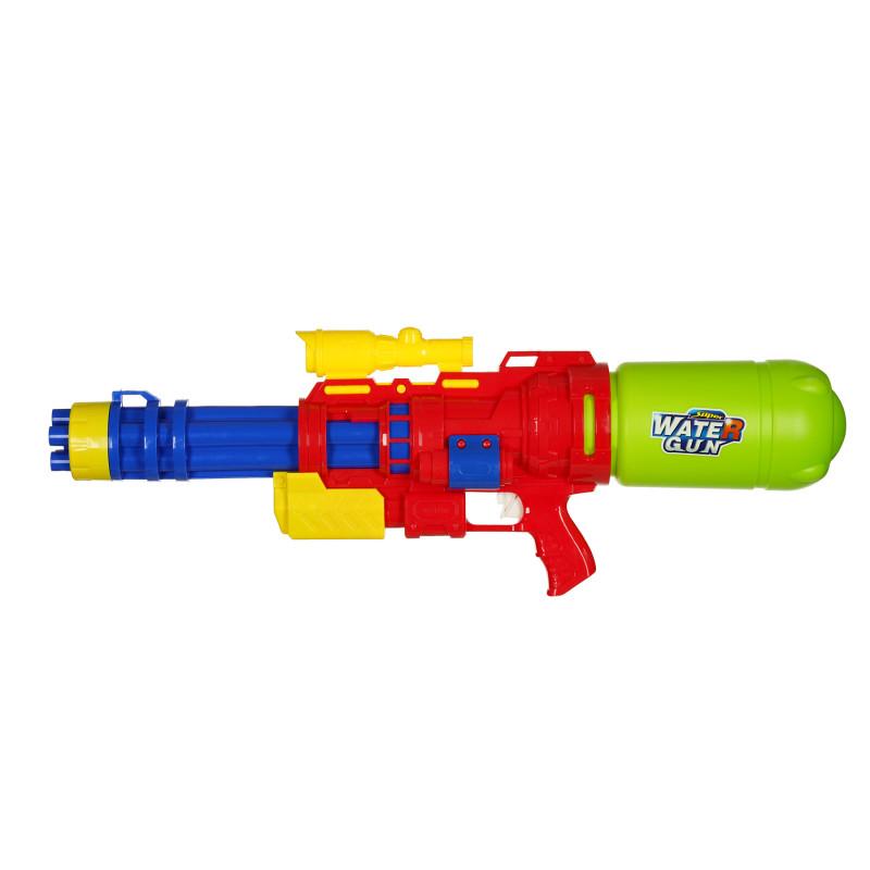 Водна картечница с 6 струи, червена  116000
