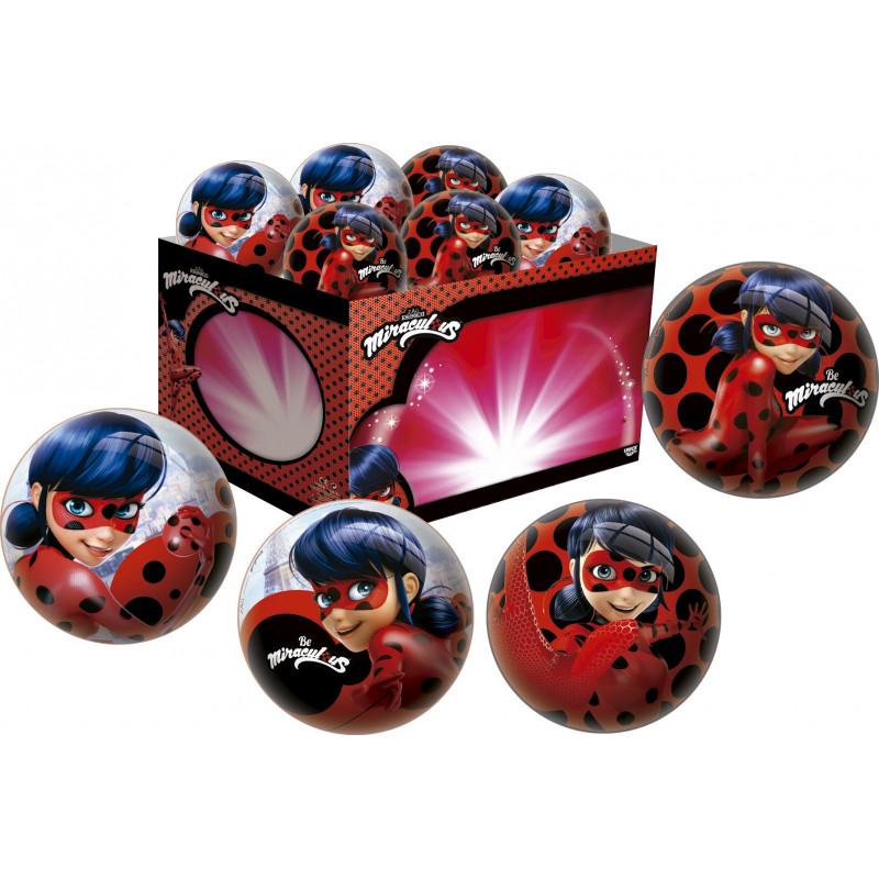 Топка за момиче - Miraculous ladybug, 15 см  1175
