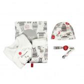 Памучен комплект за бебе от 4 части Boboli 122