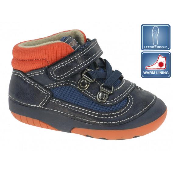 Обувки с велкро за бебе момче Beppi 12207