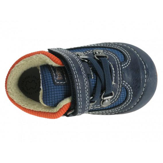 Обувки с велкро за бебе момче Beppi 12209 3
