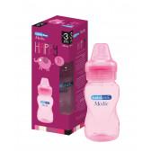 Бебешка цветна  бутилка 330 мл. BebeDue 1228