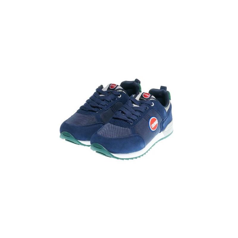 Спортни ниски обувки за момче в синьо  12389