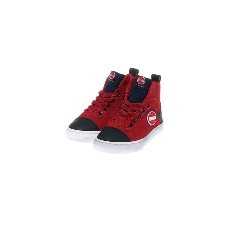 Високи спортни обувки за момче с цип  12395