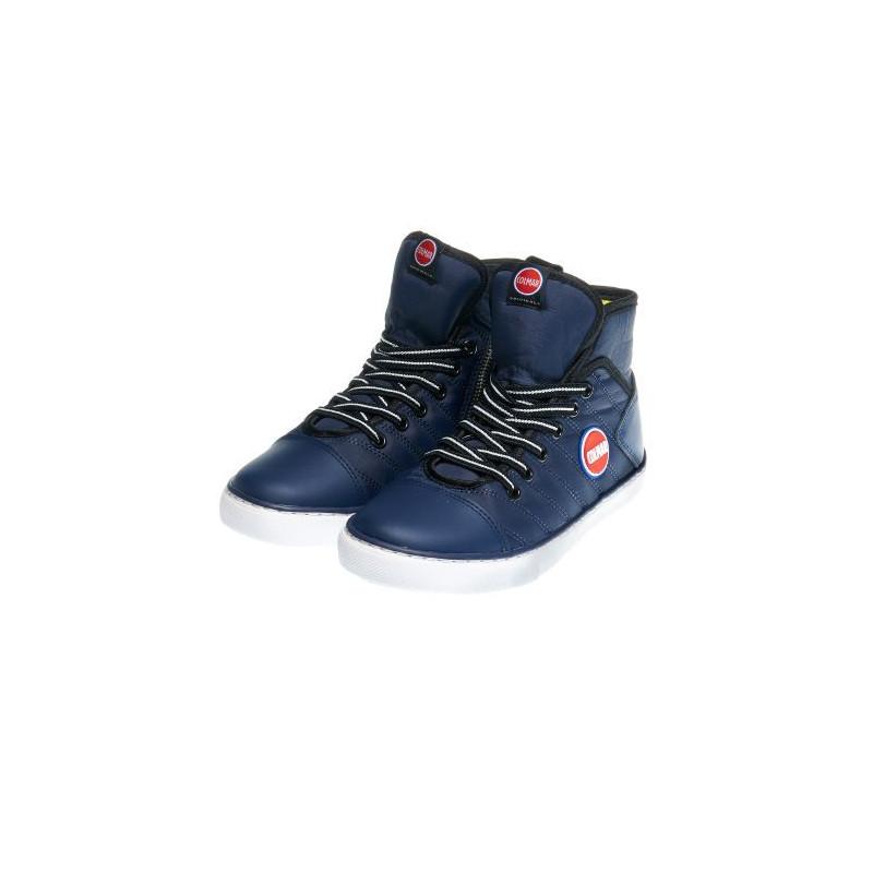 Спортни обувки за момче с връзки и страничен цип  12406