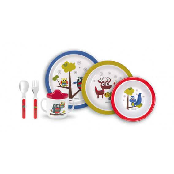 Бебешки комплект за хранене BebeDue 1252