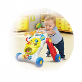 Музикална играчка за прохождане abc Chipolino 12563