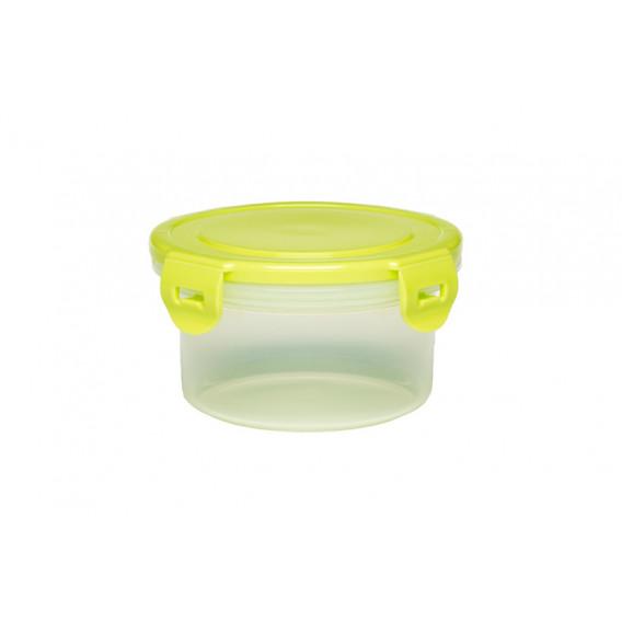 Кутия за съхранение на храна с жълт капак BebeDue 1266