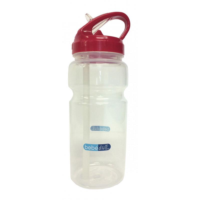 Полипропиленово шише за течности, с биберон , 6+ месеца, 500 мл.  1267
