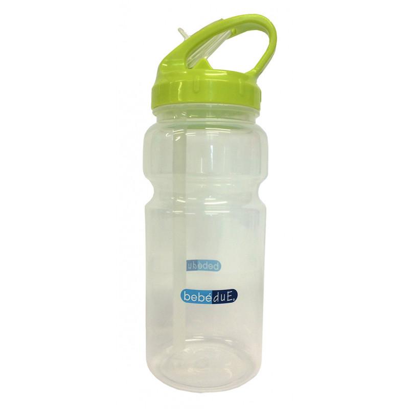 Полипропиленово шише за течности, с биберон , 6+ месеца, 500 мл.  1269