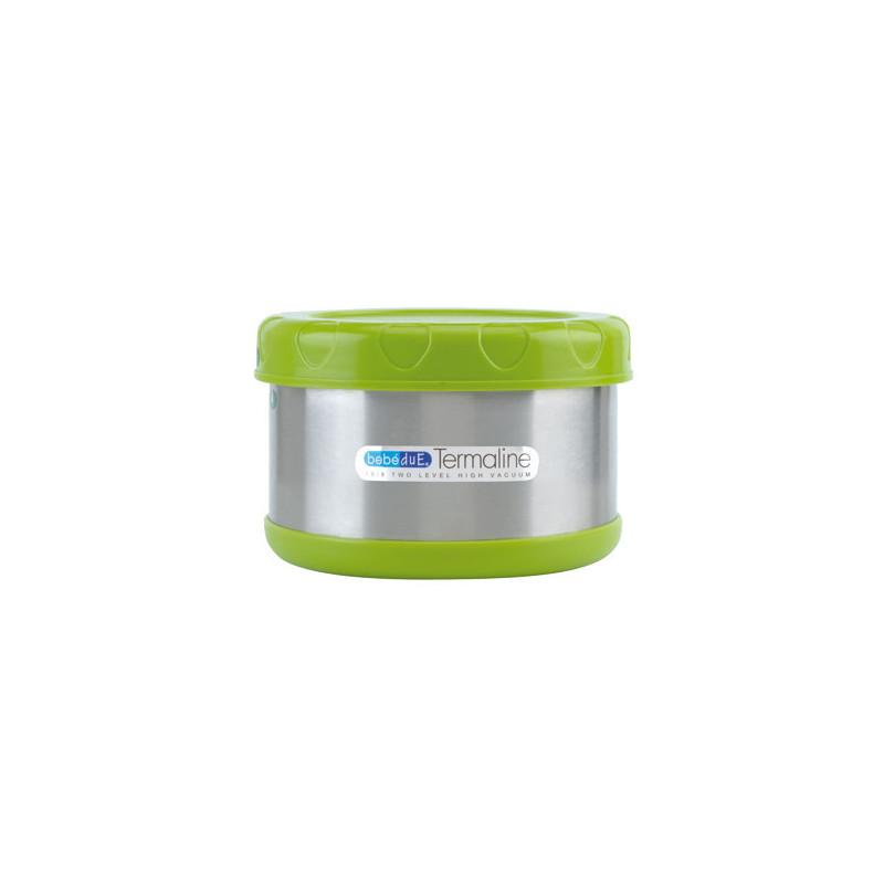 Пластмасов термос за храна, 500 мл., зелен  1272