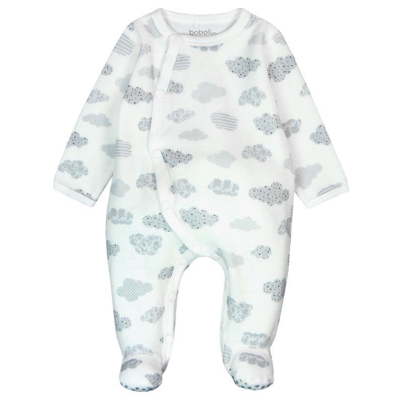Памучен унисекс гащеризон за бебе  13