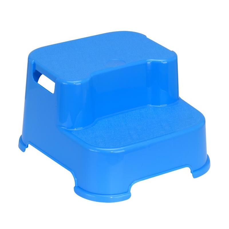 Стъпало за баня, двойно, цвят: син  1307