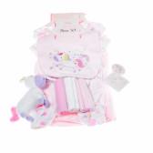 Комплект за бебе момиче от 10 части ROCK A BYE BABY 13247