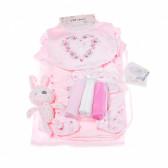 Комплект за бебе момиче от 10 части CHLOE LOUISE 13274