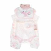 Комплект за бебе момиче от 5 части BONJOUR BEBE 13320