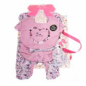 Комплект за бебе момиче от 5 части MINI MOI 13332