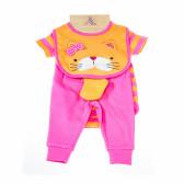 Комплект за бебе момиче от 4 части LILY AND JACK 13357