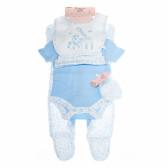 Комплект за бебе момиче от 5 части BONJOUR BEBE 13367
