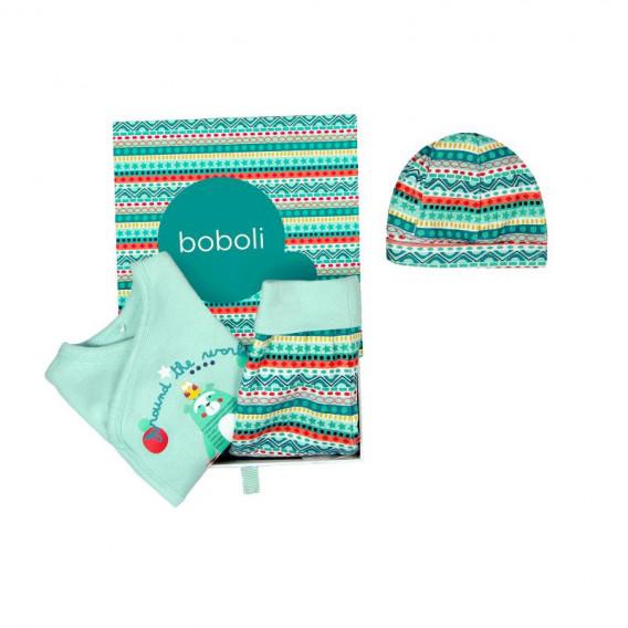 Комплект за бебе от 3 части - унисекс Boboli 134