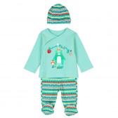 Комплект за бебе от 3 части - унисекс Boboli 135 2