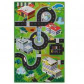 "Дигитално напечатан килим- ""town"" Аглика 1356"