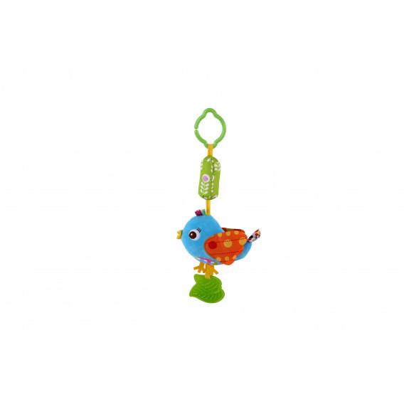 Дрънкалка тип камбанка - синя птица Lorelli 1374