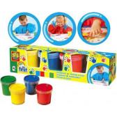 Комплект бои за рисуване с ръце SES 13876