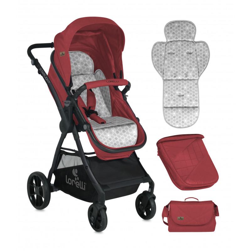 Комбинирана детска количка StarLight RED 2 в 1  13960