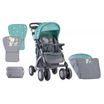 Лятна количка toledo grey&green bunnies Lorelli 13970