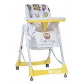 Стол за хранене, primo yellow cute owls Lorelli 14014