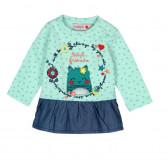 Памучна рокля за бебе Boboli 142