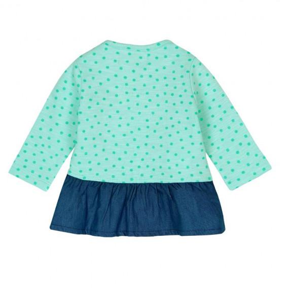Памучна рокля за бебе Boboli 143 2