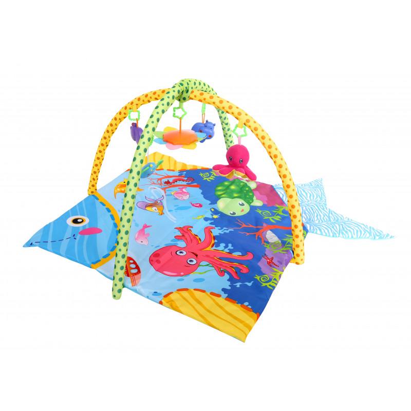 Тепих океан, цвят: син  1436