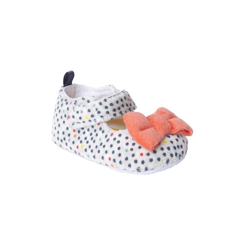 Обувки с панделка за бебе за момиче  1480