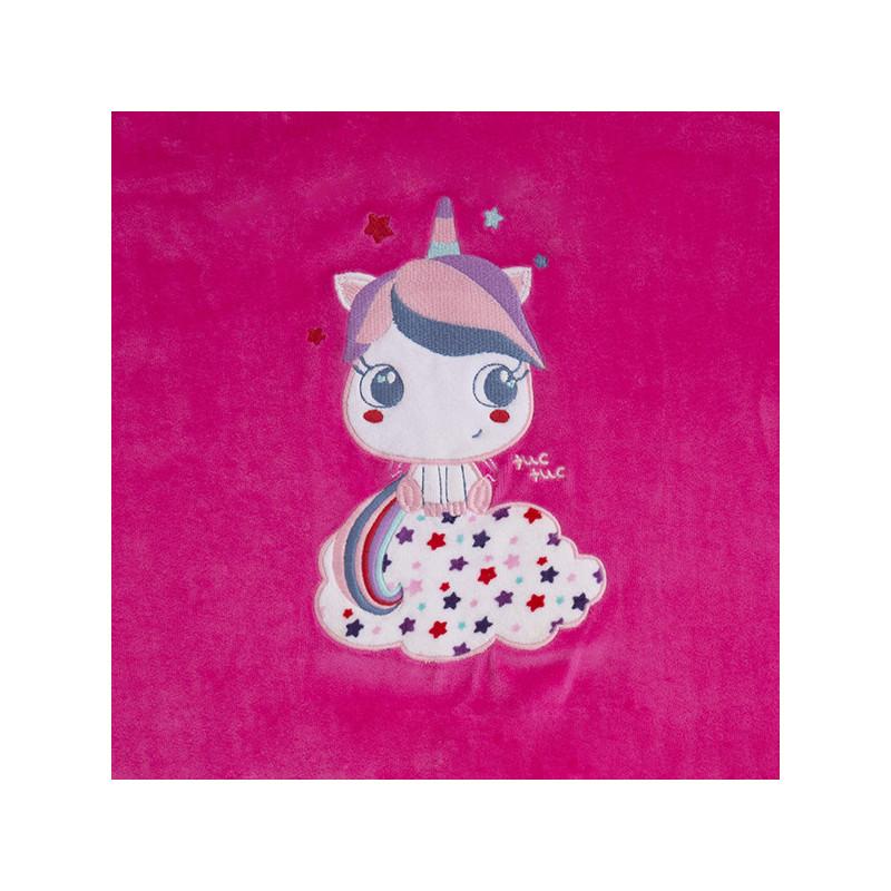"""Двулицево одеяло- """"moonlight"""" за момиче  1493"""