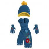 Комплект шапка, шал и ръкавички Tuc Tuc 1611