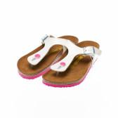Ортопедични чехли за момиче с разделител между пръстите Birkenstock 16526