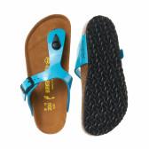 Ортопедични чехли за момиче с разделител между пръстите Birkenstock 16534