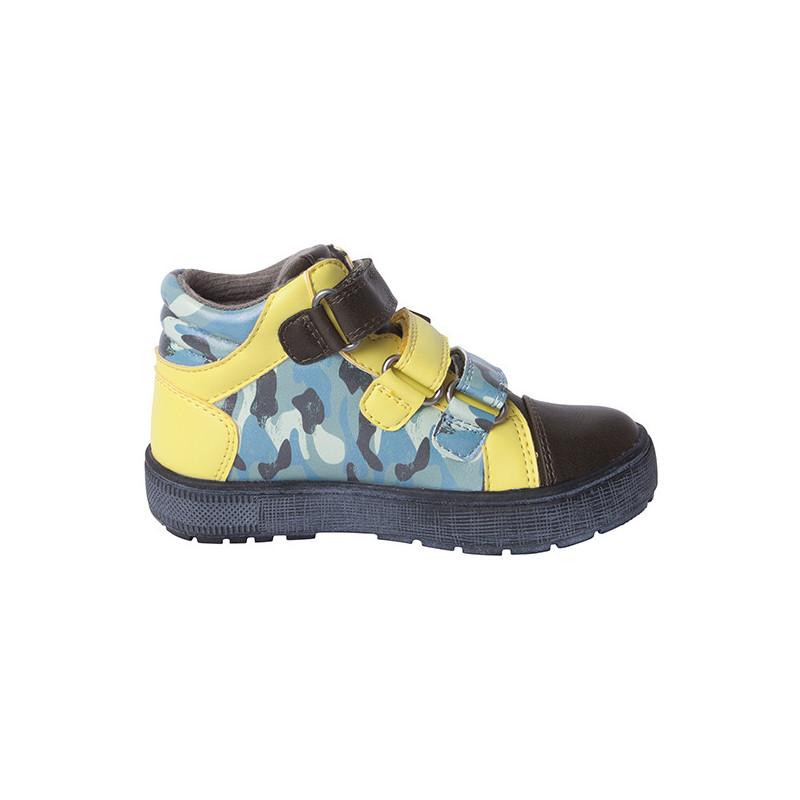 Обувки за момче с акцент в жълто  1719