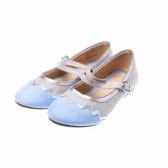 Обувка тип балерина за момиче с каишка и катарама Friboo 17681
