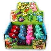 Slime- гумена играчка с желе Dino Toys 17845