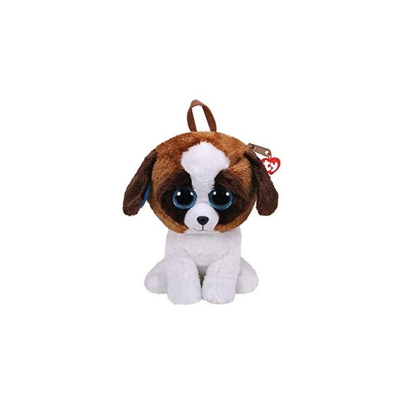 Плюшено кученце - раничка с блестящи очи Duke, 28 х 17 см  178586