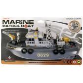 Лодка патрул Dino Toys 17886