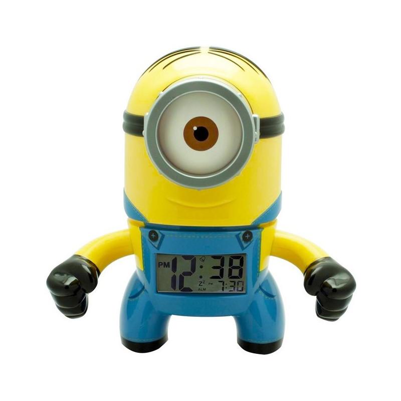 Дигитален часовник- алармен, Минион  17993