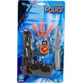 Полицайси пистолет с аксесоари Dino Toys 18003