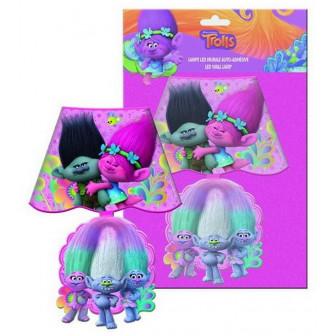 "Led лампа за стена- ""trolls"" Dino Toys 18053"